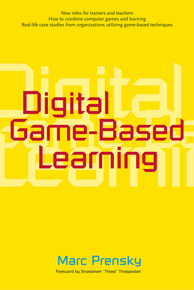 Cover of Digital Game-Based Learning